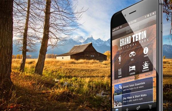 Grand Teton App Screenshot